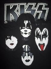 Live Nation KISS Faces Makeup GENE PAUL PETER ACE (XL) T-Shirt