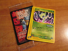 SEALED Pokemon CELEBI Card BLACK STAR PROMO Set #50 Voice of the Forest 4 EVER