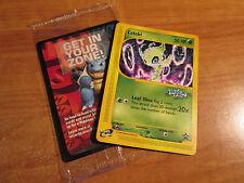 SEALED Pokemon CELEBI Card #50 BLACK STAR PROMO Set Voice of the Forest 4 EVER