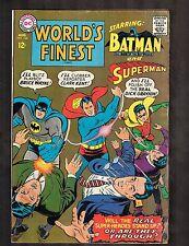 World's Finest #168 ~ Superman / Batman ~1967 (4.0) WH