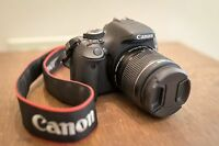 EXCELLENT Canon EOS Rebel T5 SLR Camera w/ EF-S 18-55mm IS II Lens (3 LENSES)