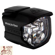 TOPEAK WHITELITE RACE FRONT BLACK BICYCLE LIGHT