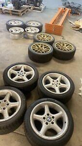 BMW E36 Z3 Wheels & Tyres 3 Sets