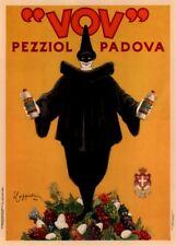 Vov Pezziol Padova, 1922, Leonetto Cappiello, 250gsm Art Deco póster de A3