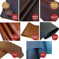 """WD-47 Tooling Leather 5/6 OZ 6"""" to48""""Brown, Black, Blue,Burgundy,Rust,Tobacco"""