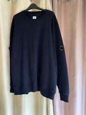 Genuine Men's  CP Company Sweatshirt Lens Viewer Black Brand New XXXL