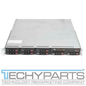 SUPERMICRO 1026T-URF X8DTU-F 2x Intel Xeon E5520 2.27Ghz 12GB 1U Server