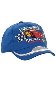 Boys Official Character Disney Cars Planes Baseball Caps Summer Sun Hat 2-8Y