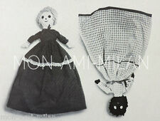 Topsy Turvy Doll Sewing Pattern Photocopy To Make Upside Down Rag Dolly Soft Toy