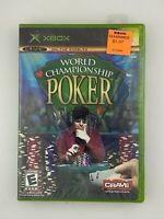 World Championship Poker - Original Xbox Game - New Sealed