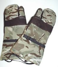 MTP CAMO GORE-TEX LINED BLIZZARD MITTENS GLOVES - Size: Medium , British Army