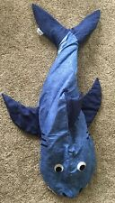 New Blue Shark Authentic Kids Sleeping Bag