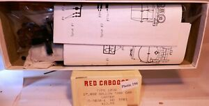 HO SCALE RED CABOOSE FRUIT INDUSTRIES 10,000 GALLON TANK CAR KIT NOS