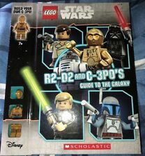 Lego Star Wars R2-D2 And C-3PO'S Guild To The Galaxy With C-3PO Lego Figure