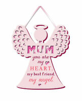 Mum, My Angel Hanging Plaque With Ribbon More Than Words Gift