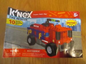 K'NEX Fire Rescue Instructions