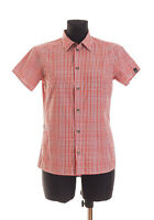 HAGLOFS Women's checked short Sleeved CLIMATIC Shirt Size Small