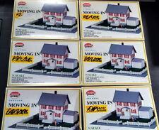 6 x Model Power House Kits N Gauge Easy to build.