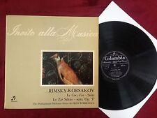 Q245 Rimsky Korsakov Le Coq d`or Dobrowen Columbia QIMX 7016 Invito alla Musica