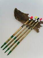 Carp Tench Fishing Floats Handmade Traditional Straight Wagglers. Set of 5