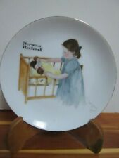 Norman Rockwell Collectors Edition Limited Edition Plate - Sleep Tight
