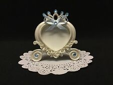 Decorated Cinderella Carriage Picture Frame Favors, (Set of 6)