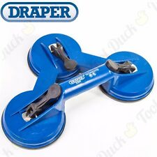 75KG THREE PAD Suction Lifter Glass/Metal/Panel Puller Carry Handle Triple Cup