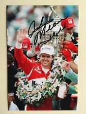"""IndyCar Rick Mears signed 6"""" x 4"""" photograph"""
