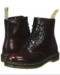 Men's Shoes Dr. Martens 1460 8 Eye Leather Boots 23756600 CHERRY RED ARCADIA 10