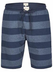 Phil & Co Berlin weiche Herren Bermuda kurze Hose Homewear blau Streifen neu