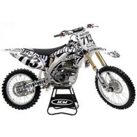 Safari Zebra HONDA Graphics Kit CRF 250 R 2004 - 2009 AMA Supercross Motocross