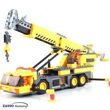 380pcs Truck Crane Engineering Building Blocks Action DIY Figure Toys Gift Kids