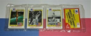 1983 Olympics Rack Pack JERRY WEST on front Los Angeles Lakers 45 cards