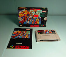 World League Basketball ( OVP & Anleitung ) Super Nintendo SNES