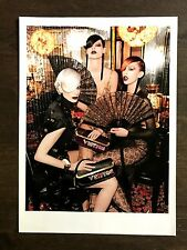 2011 UK Vogue Magazine Advert Louis Vuitton Kristen McMenamy by Steven Meisel