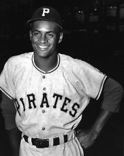 1955 Pittsburgh Pirates ROBERTO CLEMENTE Glossy 8x10 Photo Baseball Print