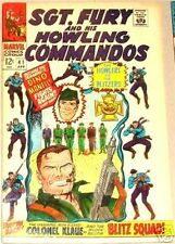 SGT. FURY 41 SERGEANT 1963 SERIES & HIS HOWLING COMMANDOS NICK RARE F/VF