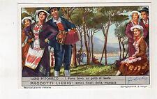 SERIE LIEBIG 1591 LAZIO PITTORESCO CPL 1/6 (UNIFICATO)