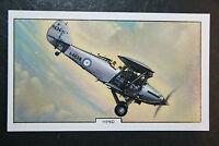 Hawker Hind  RAF Bi-plane Day Bomber  Original 1930's Vintage Card # VGC
