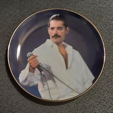 """Danbury Mint Freddie Mercury Collection 8"""" Collector Plate - Live Aid"""