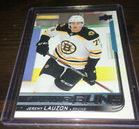 2018-19 Upper Deck Series 2 Young Guns Jeremy Lauzon RC Rookie Bruins #456