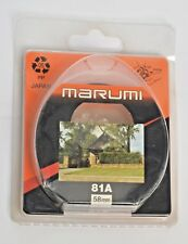 MARUMI Filter 58mm  81A
