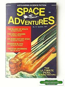 SPACE ADVENTURES # 14 (US) Summer 1971 Digest Magazine