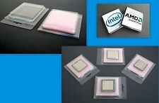 20 CPU Case Clam Shell for Packaging Intel AMD Processors + Anti Static Foam New