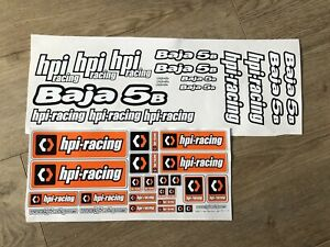 HPI Baja decal stickers for your HPI Baja 5b 5t 5sc