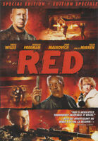RED (SPECIAL EDITION) (BRUCE WILLIS) (BILINGUAL) (DVD)