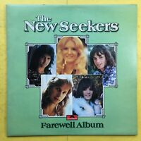 The New Seekers - Farewell Album - Polydor 2383-293 Ex+ Condition Vinyl LP