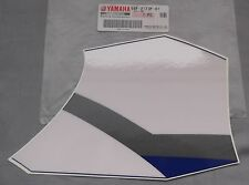 Genuine Yamaha WR250F WR426F Radiator Duct Graphic Decal White Blue 5SF-2173F-01