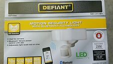 New Defiant motion security led light Bluetooth control White DFI-5985-WH