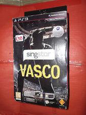 SINGSTAR VASCO ROSSI PS3 INCLUDE GIOCO, I DUE MICROFONI ED IL convertitore usb